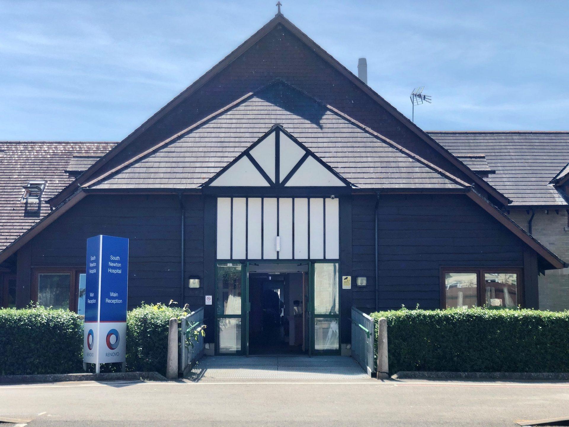 South Newton front entrance