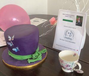 Money raised for Headway at Hollanden Park Hospital Celebrates Afternoon Tea Week